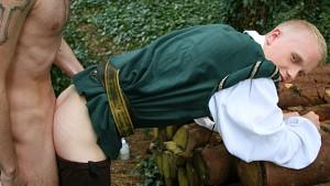 Robin Hood's Band of Barebackers | Scene One