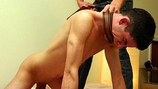 Paul Pratt spanks Tristan Sommers
