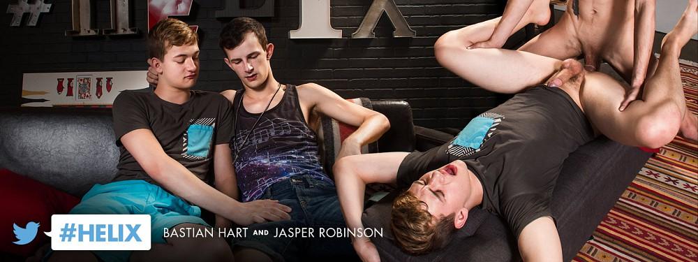 #helix: Bastian Hart and Jasper Robinson
