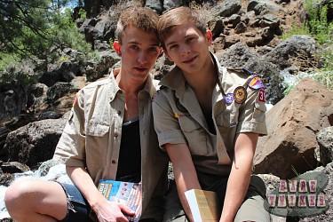 Bareback Scouts Earn A Badge photo 1