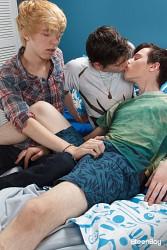Schoolboy Threesome photo 1