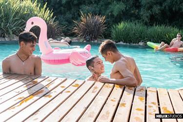 Acqua Latinos | Part 4: Swimming Race photo 1