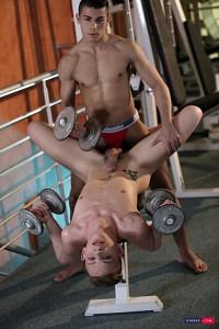Gym Buddies Flip Fuck?> - 8