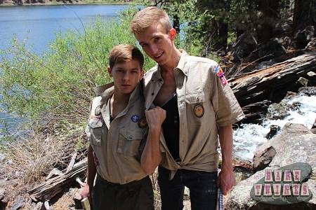 Bareback Scouts Earn A Badge?> - 2
