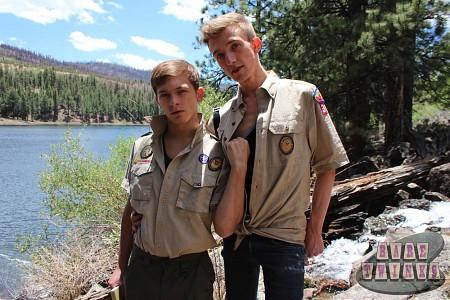 Bareback Scouts Earn A Badge?> - 3