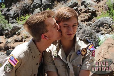 Bareback Scouts Earn A Badge?> - 8