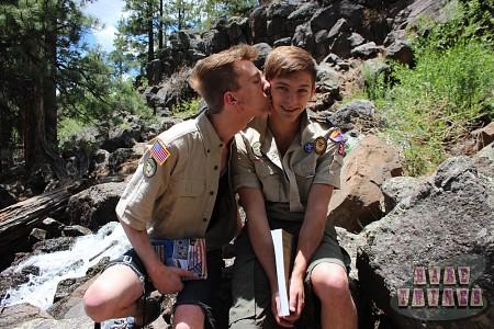 Bareback Scouts Earn A Badge?> - 10