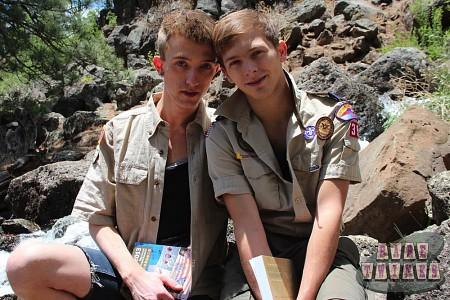 Bareback Scouts Earn A Badge?> - 14
