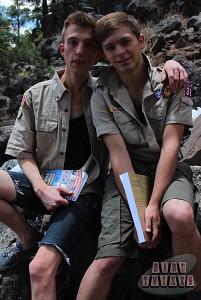 Bareback Scouts Earn A Badge?> - 15