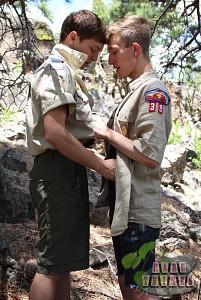 Bareback Scouts Earn A Badge?> - 20