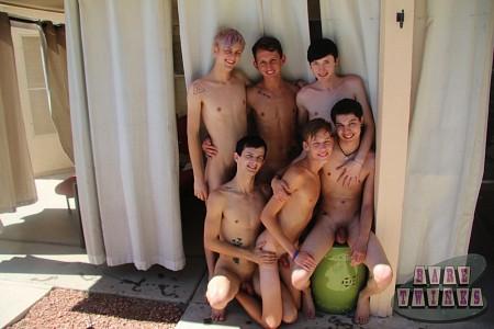 Bareback Twink Boy Orgy?> - 2