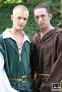 Robin Hood's Band of Barebackers | Scene One?> - 3