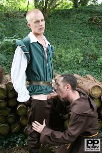 Robin Hood's Band of Barebackers | Scene One?> - 13