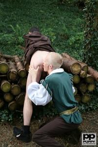 Robin Hood's Band of Barebackers | Scene One?> - 19