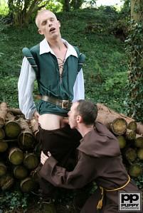 Robin Hood's Band of Barebackers | Scene One?> - 41