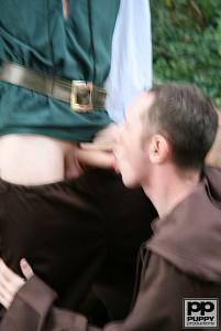 Robin Hood's Band of Barebackers | Scene One?> - 43