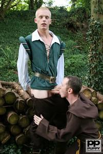 Robin Hood's Band of Barebackers | Scene One?> - 45