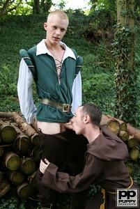 Robin Hood's Band of Barebackers | Scene One?> - 47
