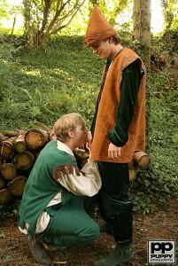 Robin Hood's Band of Barebackers | Scene Two?> - 2