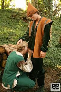 Robin Hood's Band of Barebackers | Scene Two?> - 3