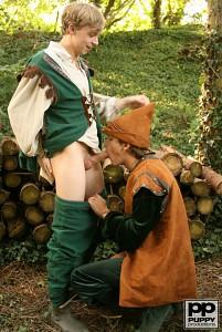 Robin Hood's Band of Barebackers | Scene Two?> - 6