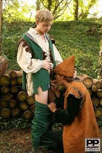Robin Hood's Band of Barebackers | Scene Two?> - 8