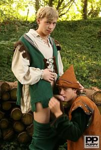 Robin Hood's Band of Barebackers | Scene Two?> - 10