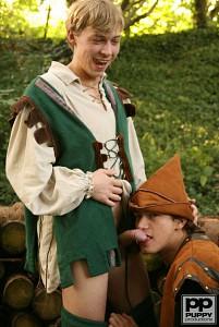 Robin Hood's Band of Barebackers | Scene Two?> - 13