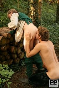 Robin Hood's Band of Barebackers | Scene Two?> - 14