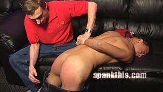 Julian Garcia Gets a spanking