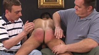TJ and Jeff spank Jay