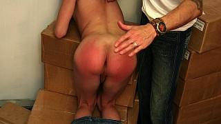 Ryan spanks Jesse
