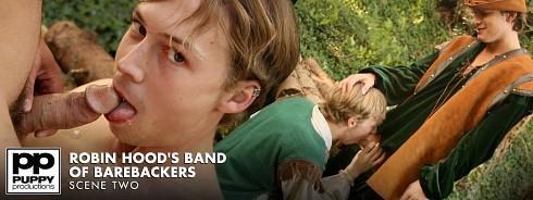 Robin Hood's Band of Barebackers | Scene Two