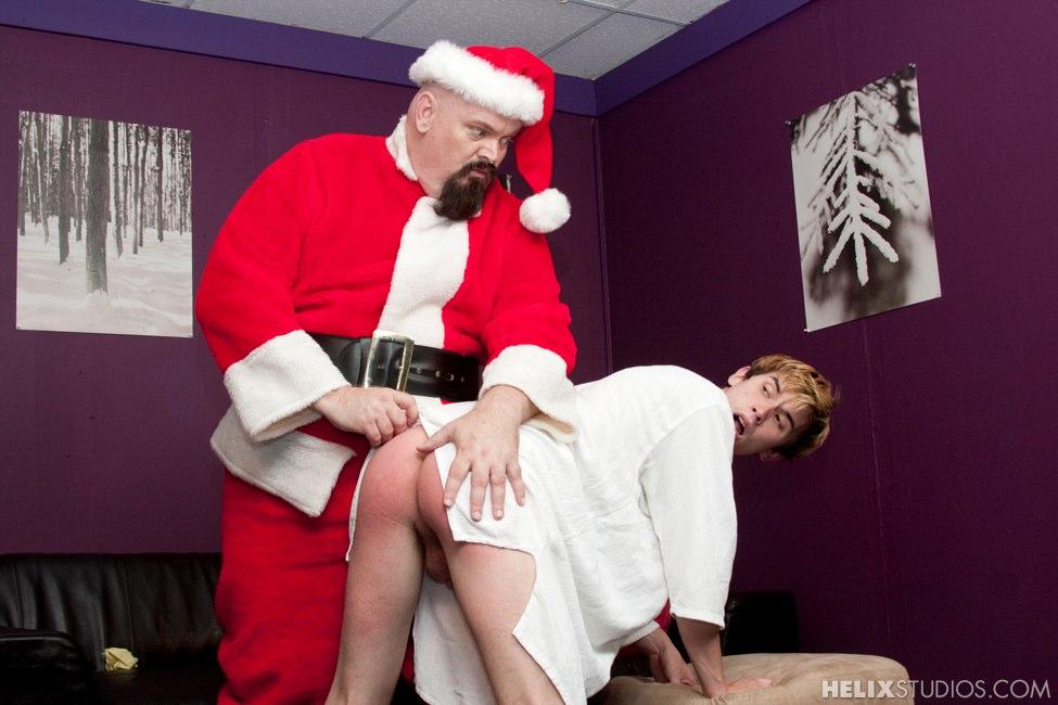 Santa Spanks A Bad Boy - Helixstudioscom-7021