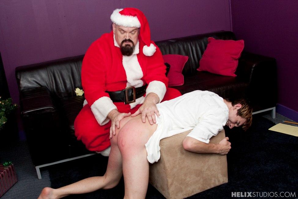 Santa Spanks A Bad Boy - Helixstudioscom-1896
