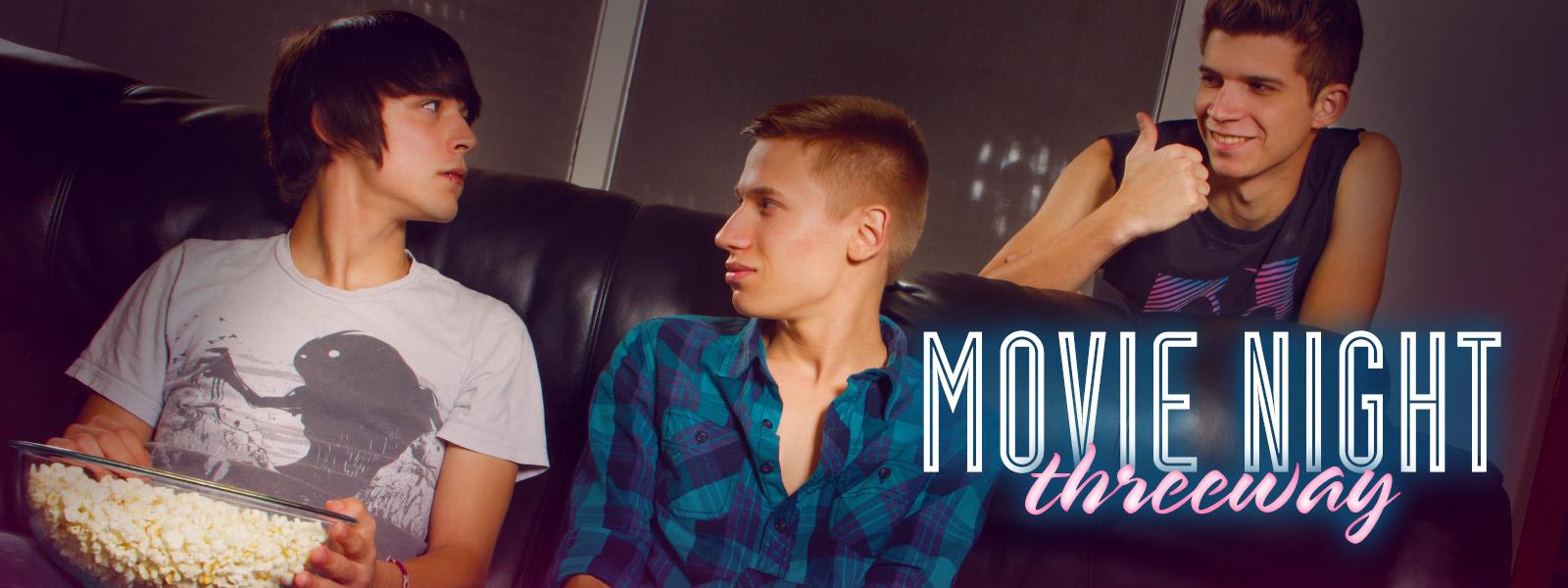Movie Night Threeway