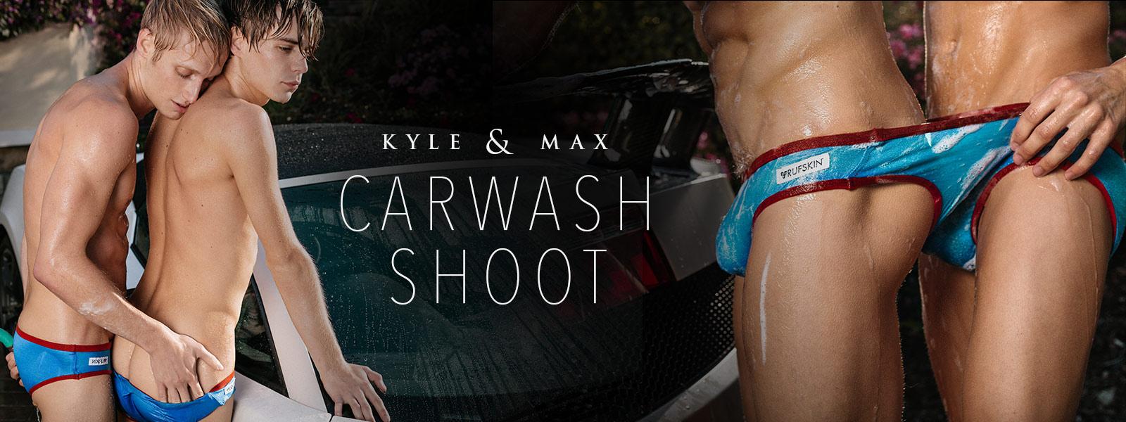 Kyle & Max: Carwash Shoot