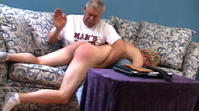 Daddy howard spank the boy