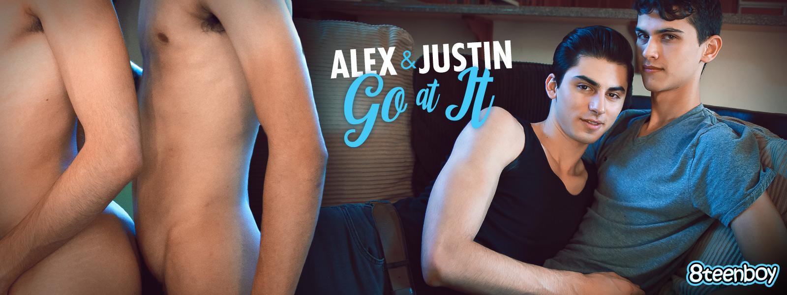 Alex & Justin Go At It