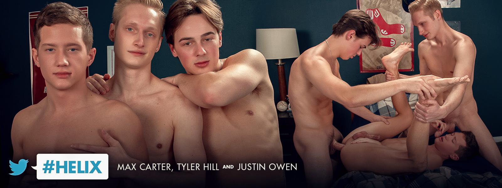 #helix: Max Carter, Tyler Hill & Justin Owen