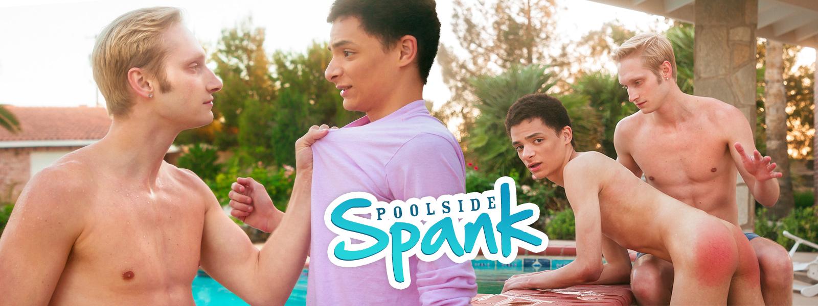 Poolside Spank