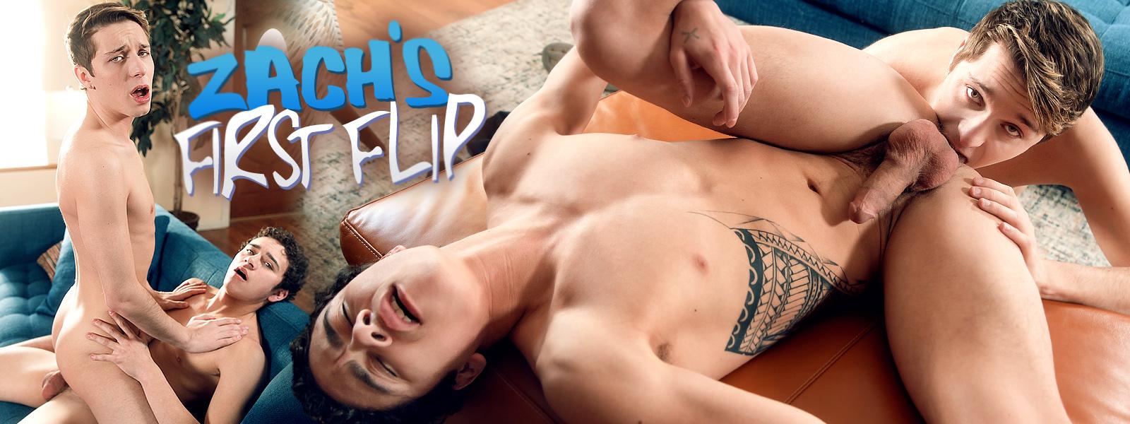 Zach's First Flip