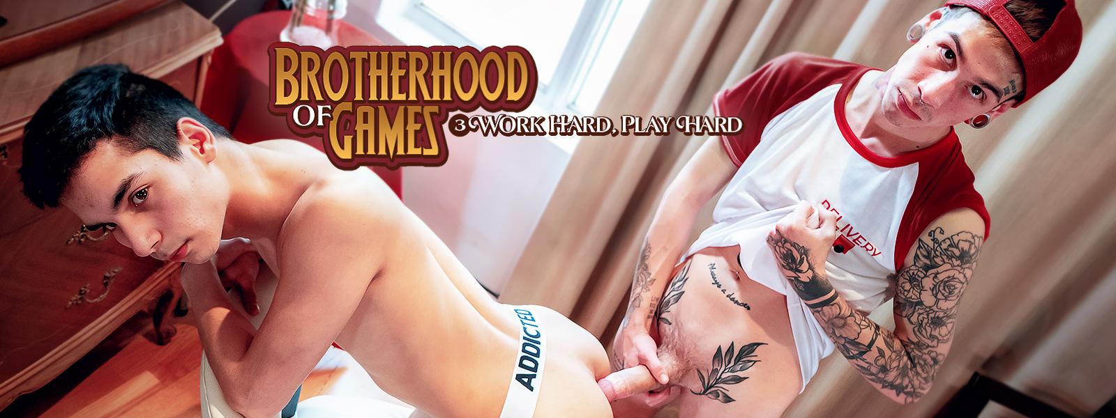 Brotherhood of Games   Ch. 3 Work Hard, Play Hard
