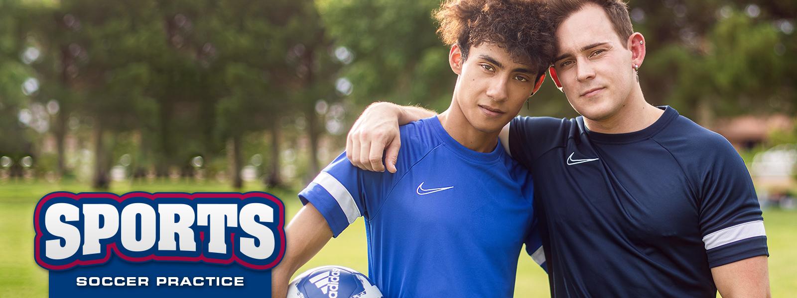 Sports: Soccer Practice